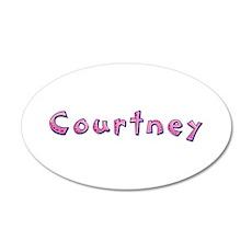 Courtney Pink Giraffe Wall Decal