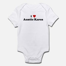I Love Auntie Karen Infant Bodysuit