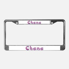 Chana Pink Giraffe License Plate Frame