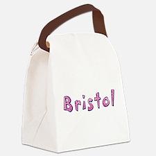 Bristol Pink Giraffe Canvas Lunch Bag