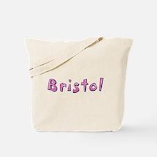 Bristol Pink Giraffe Tote Bag