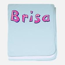 Brisa Pink Giraffe baby blanket