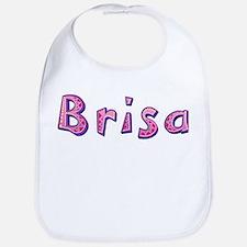 Brisa Pink Giraffe Bib