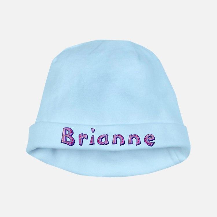 Brianne Pink Giraffe baby hat