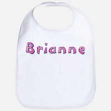 Brianne Pink Giraffe Bib
