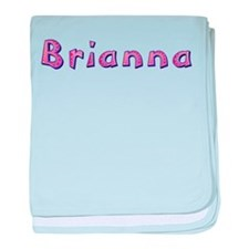 Brianna Pink Giraffe baby blanket