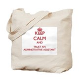 Administrative assistant Canvas Totes
