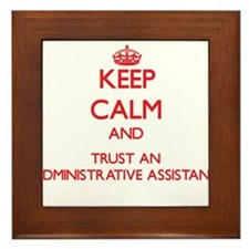 Keep Calm and Trust an Administrative Assistant Fr