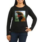Gold Brabanter Women's Long Sleeve Dark T-Shirt