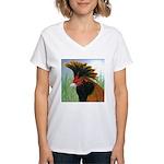 Gold Brabanter Women's V-Neck T-Shirt