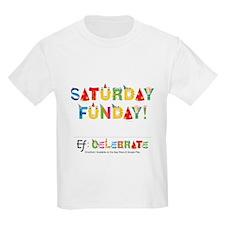 Emotifont Saturday Funday T-Shirt