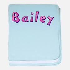 Bailey Pink Giraffe baby blanket
