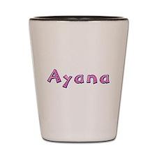 Ayana Pink Giraffe Shot Glass