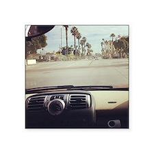"""Santa Barbara Passenger Sea Square Sticker 3"""" x 3"""""""