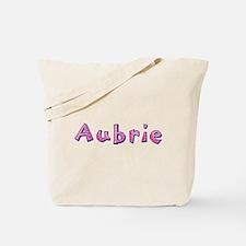 Aubrie Pink Giraffe Tote Bag