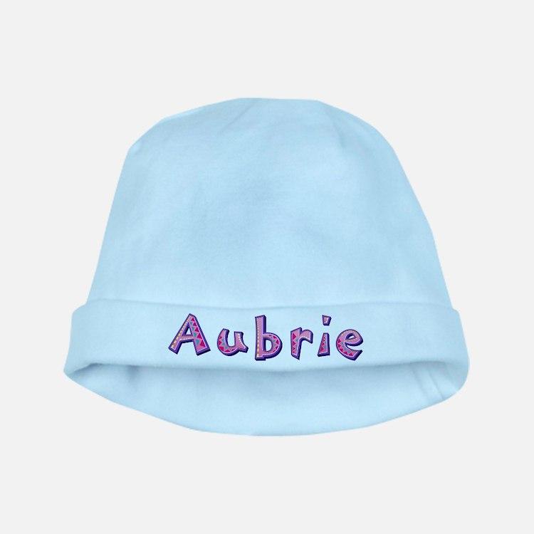 Aubrie Pink Giraffe baby hat