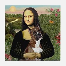 Mona & Boxer Tile Coaster