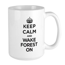 Keep Calm and Wake Forest On Mugs