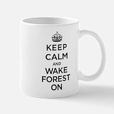 Keep Calm and Wake Forest On Mugs