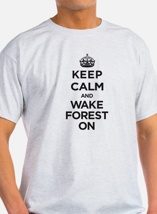 Keep Calm and Wake Forest On T-Shirt