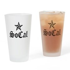Unique So cal Drinking Glass