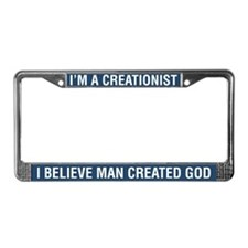 I'm A Creationist License Plate Frame