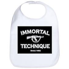 Immortal Technique Black Bib