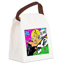 Bubblehead Cruel World Canvas Lunch Bag