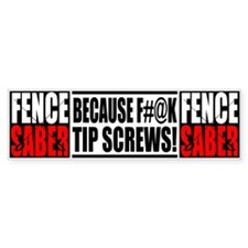 F*** Tip Screws Bumper Sticker