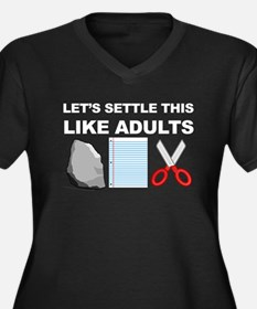 Lets Settle This Like Adults Plus Size T-Shirt