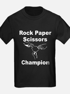 Rock Paper Scissors Champion T-Shirt