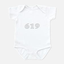619 san diego area code baby  Infant Bodysuit