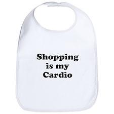 Shopping is my Cardio Bib