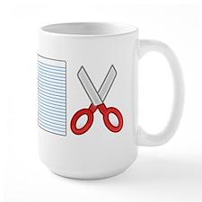 Rock Paper Scissors Mugs