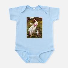Windflowers & Boxer Infant Bodysuit