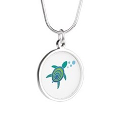 OceanDoctor HQ Just the Turtle LARGE.png Necklaces