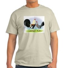 Grey Gamefowl T-Shirt