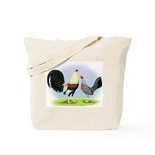 Grey Gamefowl Tote Bag