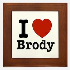 I love Brody Framed Tile
