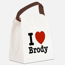 I love Brody Canvas Lunch Bag
