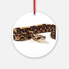 Bitis Gabonica Viper Ornament (Round)