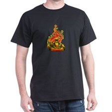Kart Racer with Flames T-Shirt