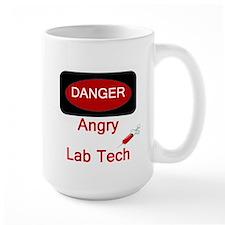 Danger Angry Lab Tech Mug