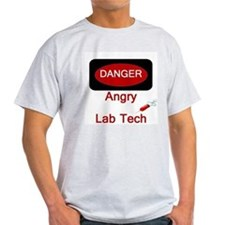 Danger Angry Lab Tech T-Shirt