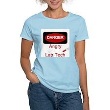 Danger Angry Lab Tech T-Shirt