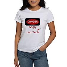 Danger Angry Lab Tech Tee