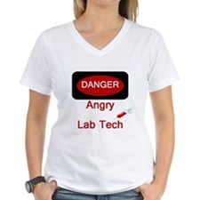 Danger Angry Lab Tech Shirt