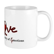 lasting over a variety of emotion love  Small Mugs