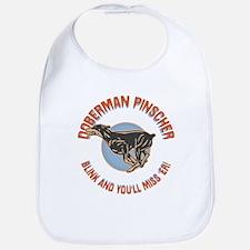 Doberman Blink Bib