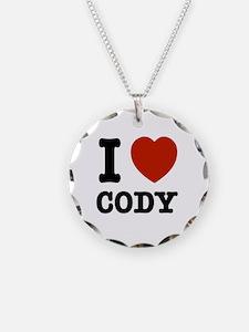 I love Cody Necklace